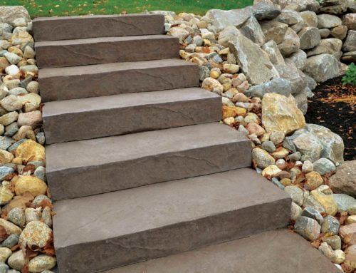 LondonStone PreCast Steps Brown