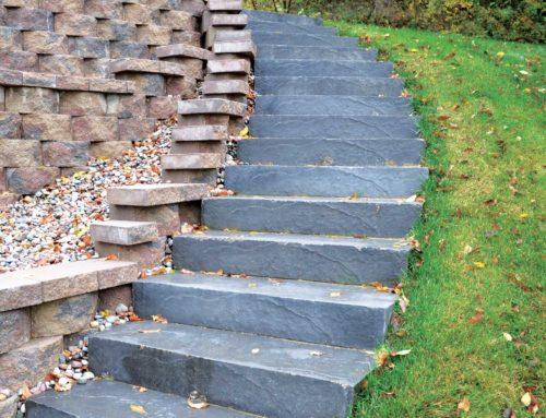 LondonStone Precast Step Charcoal