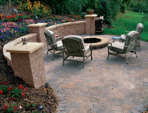 LondonStone StraightFace Wall Cobblestone Pavers River Rock